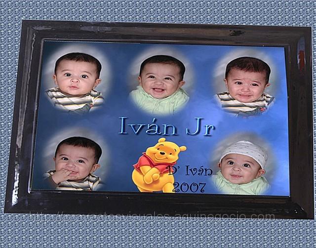 Cuadro para caritas de bebé - Imagui